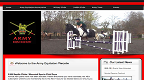 army equitation